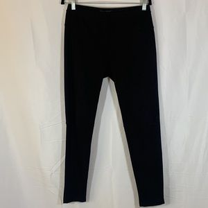 Sanctuary Black Suede Style Leggings